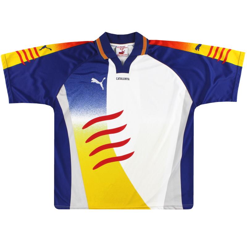 2002-03 Catalunya Puma Home Shirt XL