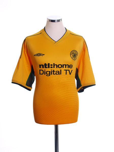 2002-03 Celtic Away Shirt XL