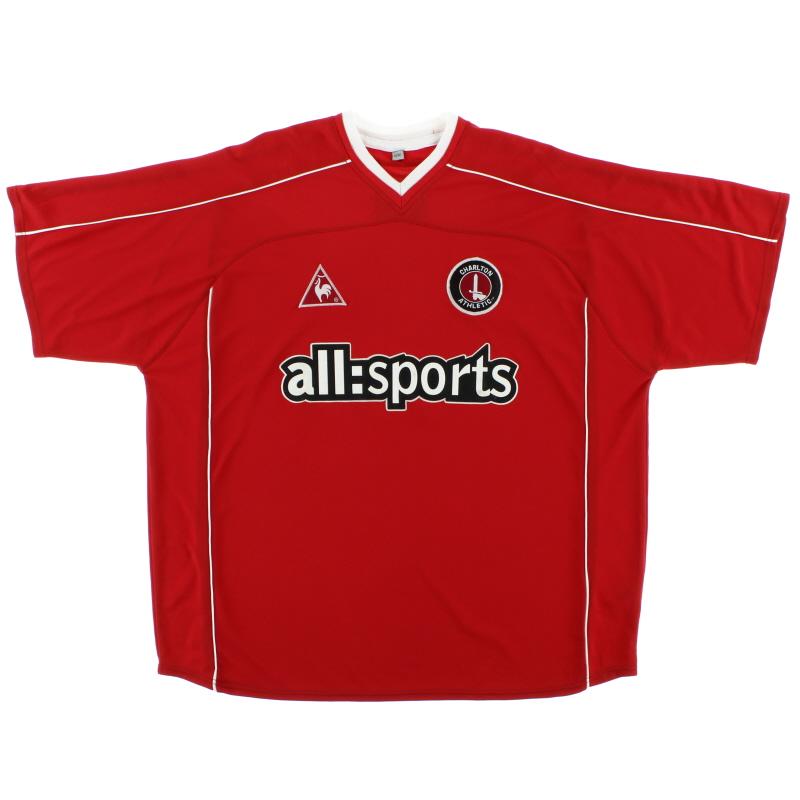 2002-03 Charlton Home Shirt *Mint* XL