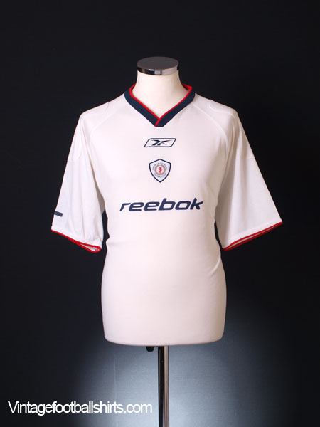 2002-03 Crewe Alexandra Diadora Training Shirt M