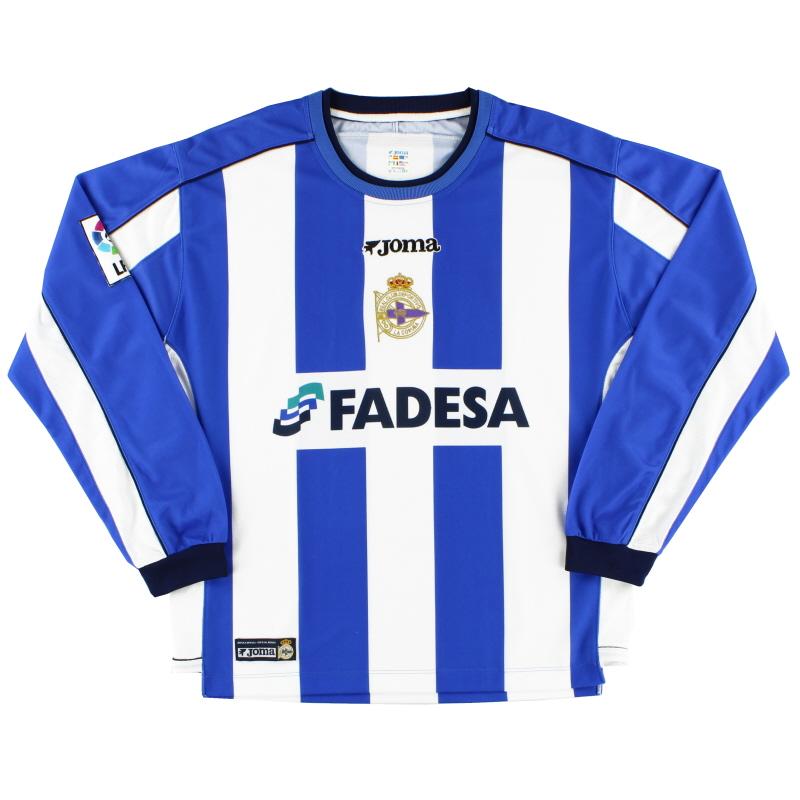 2002-03 Deportivo Home Shirt L/S L