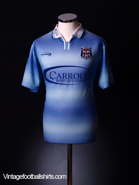 2002-03 Dublin Home Shirt L
