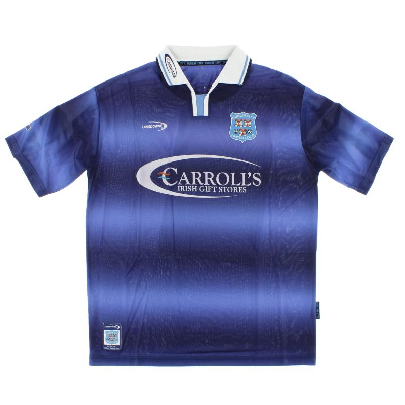 2002-03 Dublin City Home Shirt L