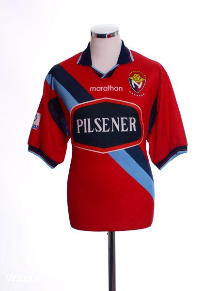 2002-03 El Nacional Home Shirt L
