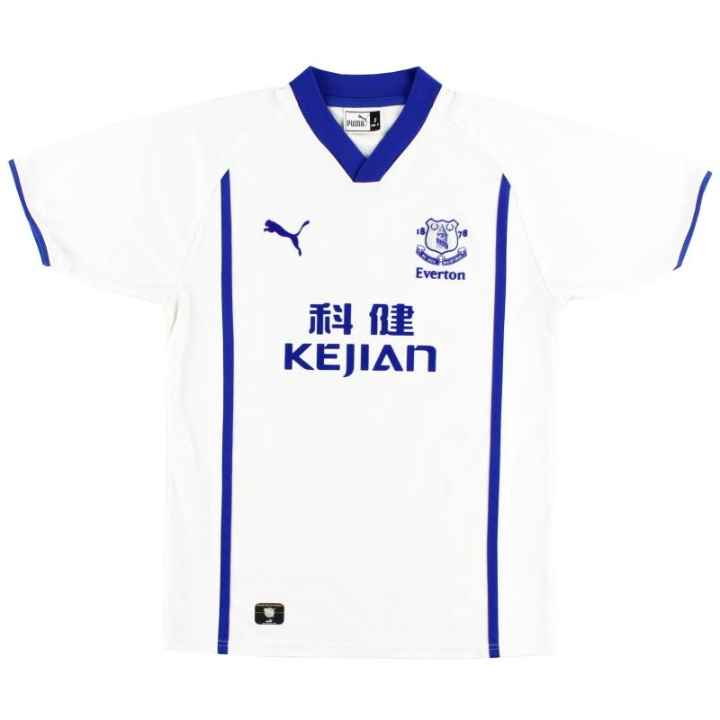 2002-03 Everton Away Shirt S