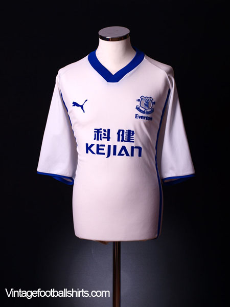2002-03 Everton Away Shirt XL