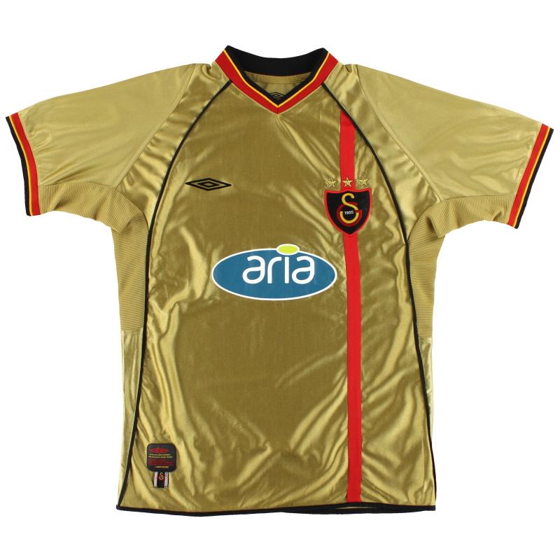 2002-03 Galatasaray Umbro Fourth Shirt M
