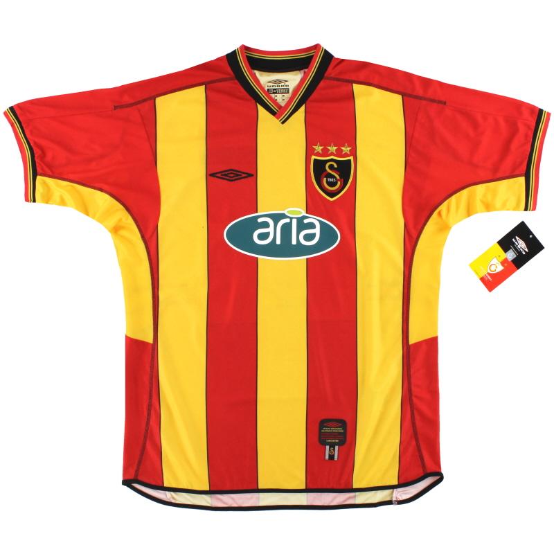 2002-03 Galatasaray Umbro Home Shirt *w/tags* M - 547/90