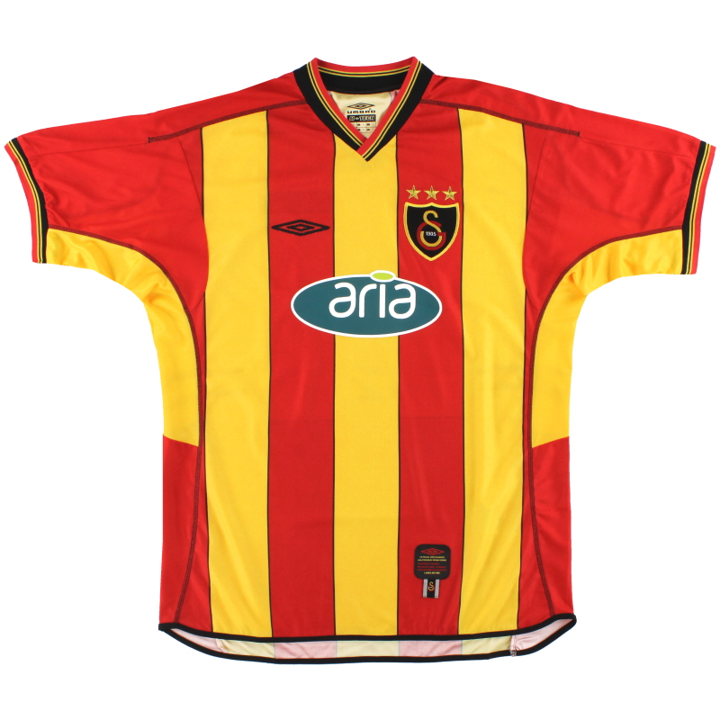 2002-03 Galatasaray Umbro Home Shirt *As New* L - 547/90