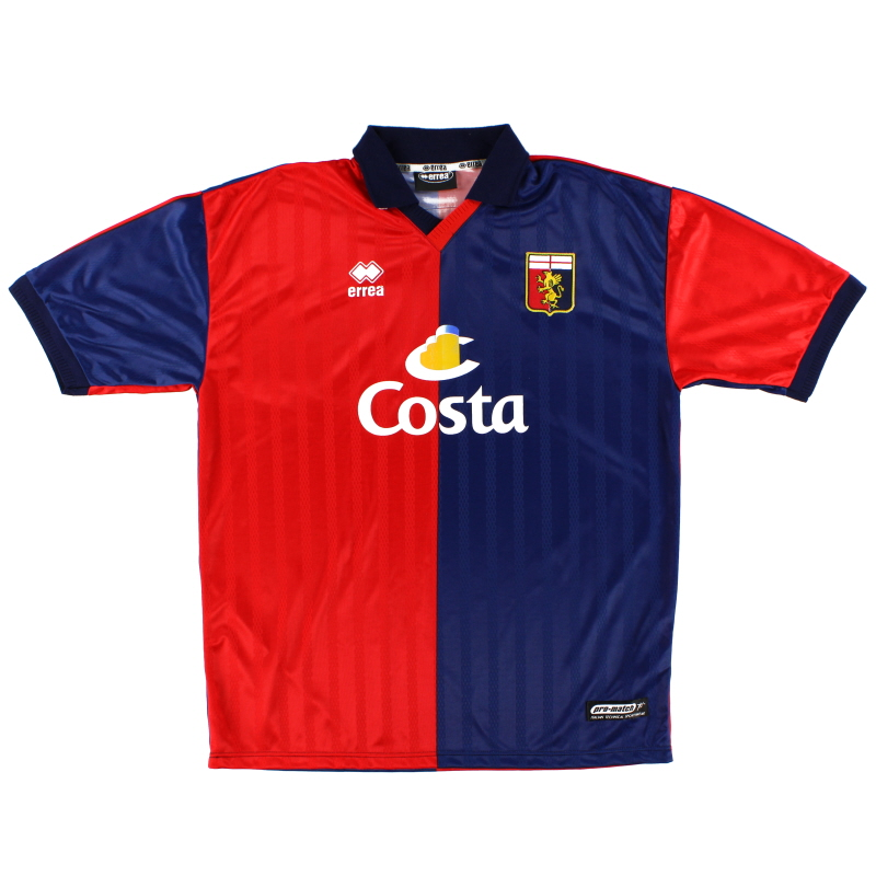 2002-03 Genoa Home Shirt XXL