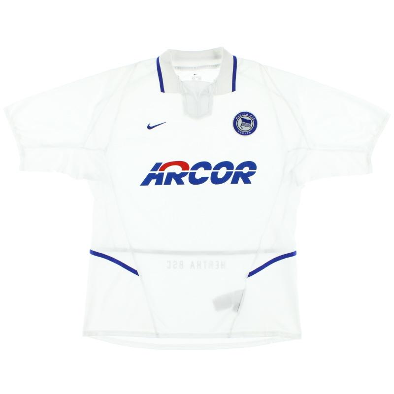 2002-03 Hertha Berlin Away Shirt XXL