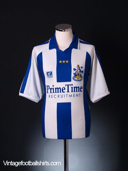 2002-03 Huddersfield Town Home Shirt M