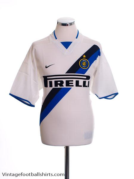 2002-03 Inter Milan Away Shirt XL - 184674