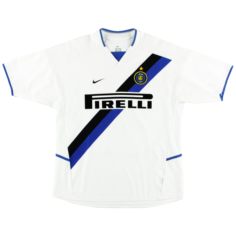 2002-03 Inter Milan Nike Away Shirt L - 184674