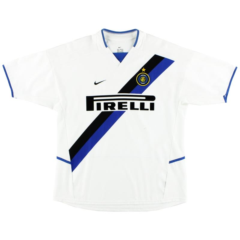 2002-03 Inter Milan Nike Away Shirt XXL - 184674