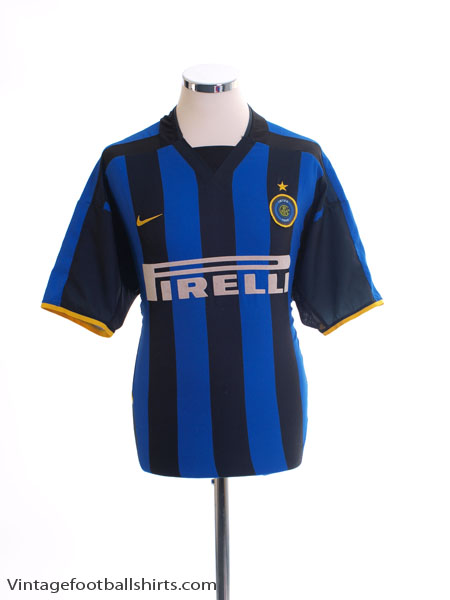 2002-03 Inter Milan Home Shirt L
