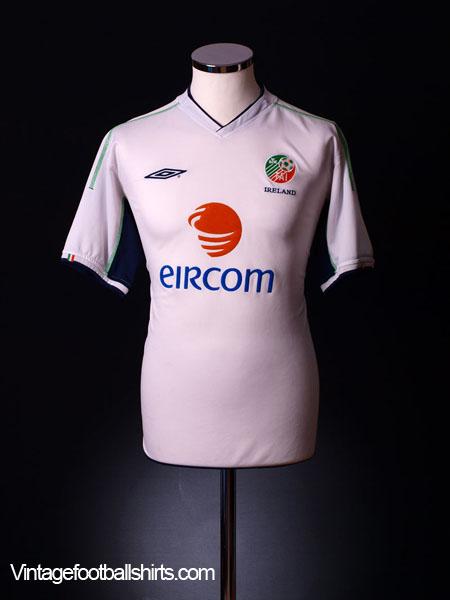 2002-03 Ireland Away Shirt *BNWT* XL