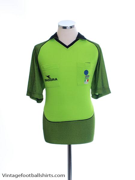 2002-03 Italy FIGC Referee Shirt *Mint* L