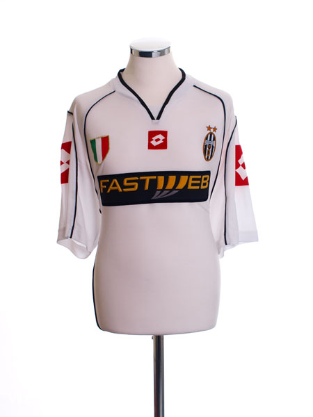 2002-03 Juventus Away Shirt *Mint* L