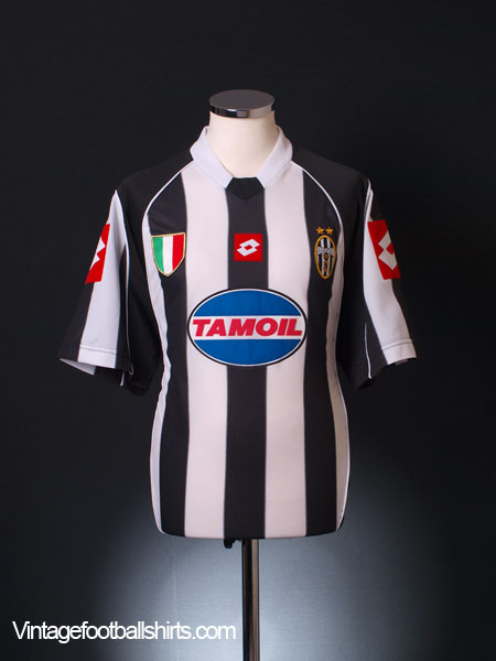 2002-03 Juventus Champions League Home Shirt L