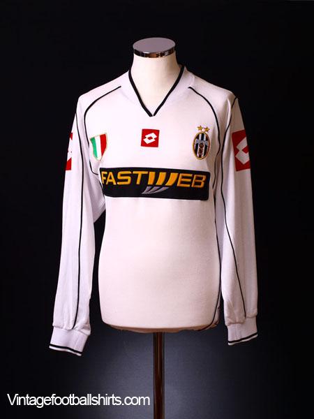 2002-03 Juventus Away Shirt L/S L