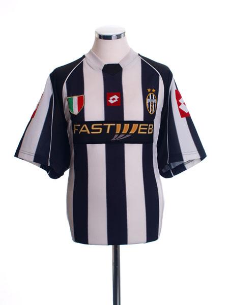 2002-03 Juventus Home Shirt M