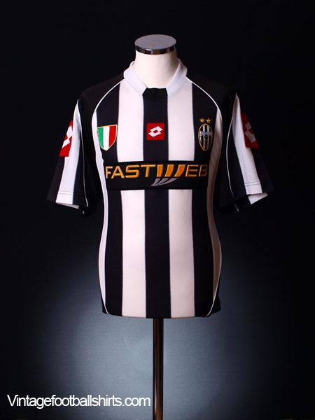 2002-03 Juventus Home Shirt XL
