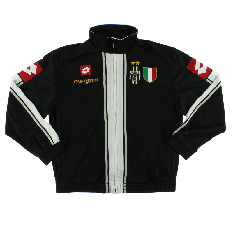 2002-03 Juventus Lotto Track Jacket L