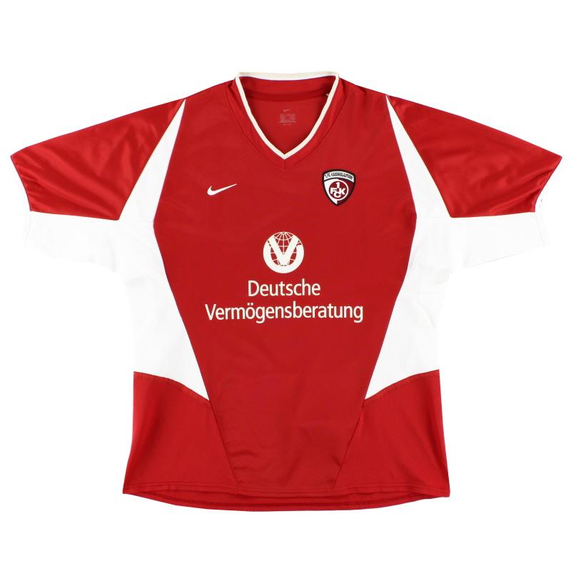 2002-03 Kaiserslautern Home Shirt XL - 185278