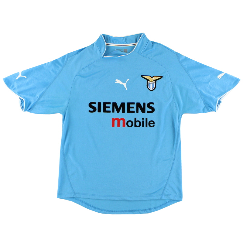 2002-03 Lazio Home Shirt L