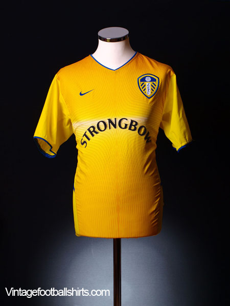 2002-03 Leeds Away Shirt M