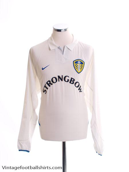 2002-03 Leeds Home Shirt L/S *Mint* L