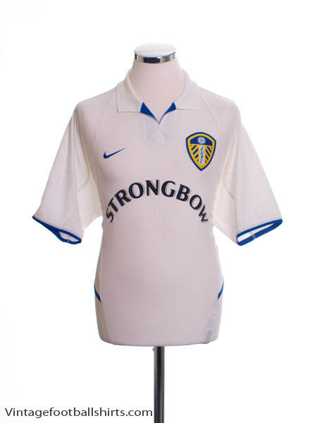 2002-03 Leeds Home Shirt L