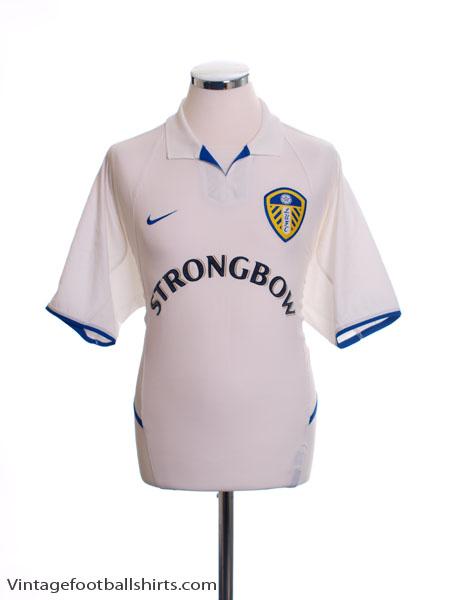 2002-03 Leeds Home Shirt M