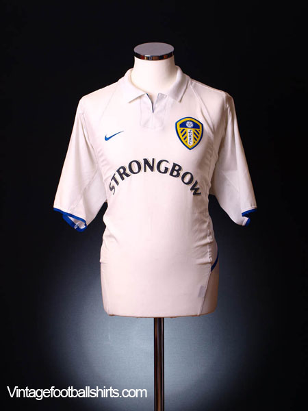 2002-03 Leeds Home Shirt M.Boys