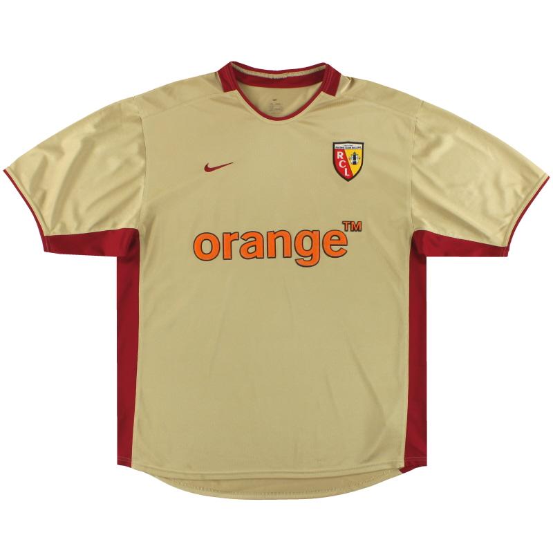 2002-03 Lens Nike Home Shirt L - 184381