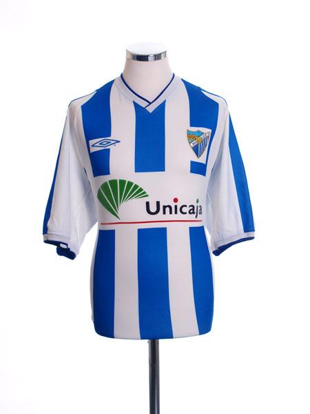 2002-03 Malaga Home Shirt XL