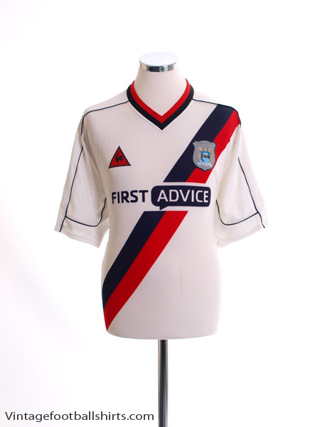 2002-03 Manchester City Away Shirt L