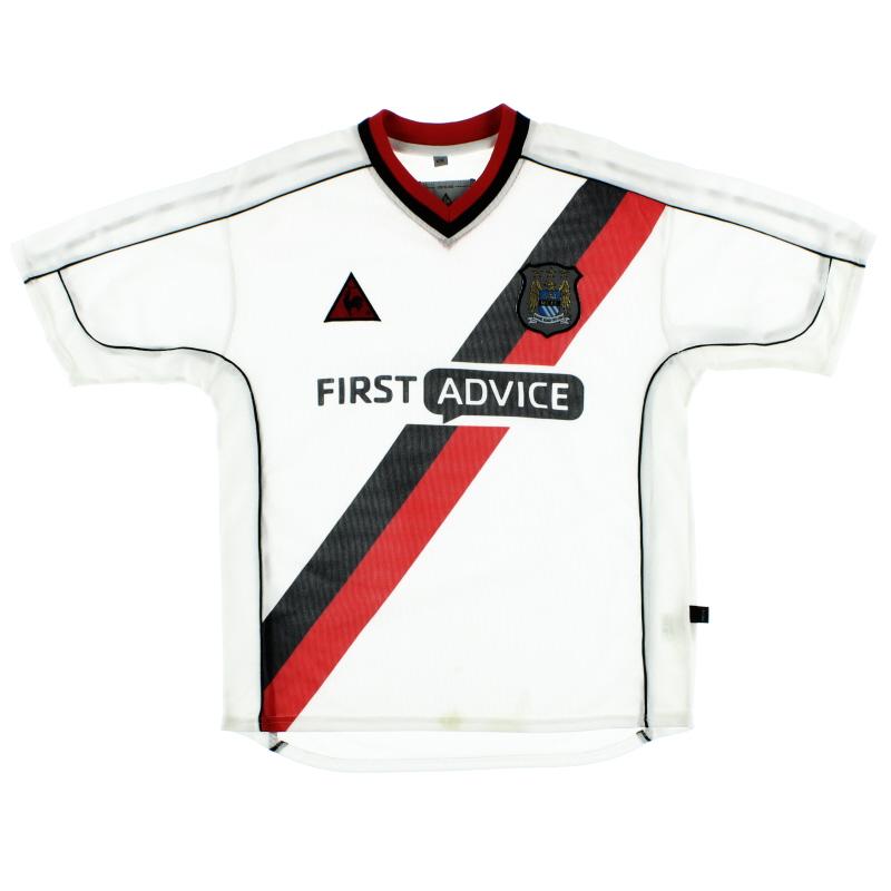 2002-03 Manchester City Away Shirt S