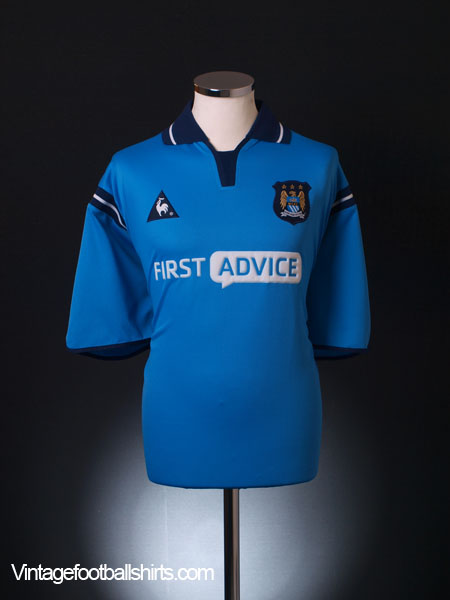 2002-03 Manchester City Home Shirt XL