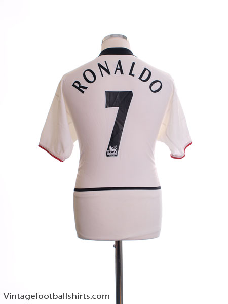 2002-03 Manchester United Away Shirt Ronaldo #7 S