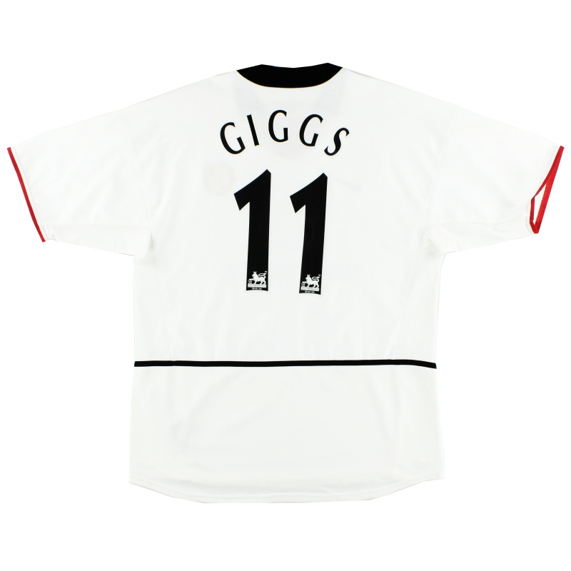 2002-03 Manchester United Away Shirt Giggs #11 *Mint* L - 184951