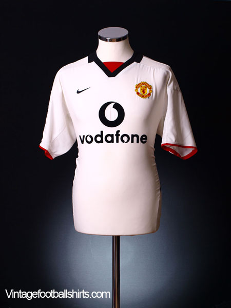 2002-03 Manchester United Away Shirt L