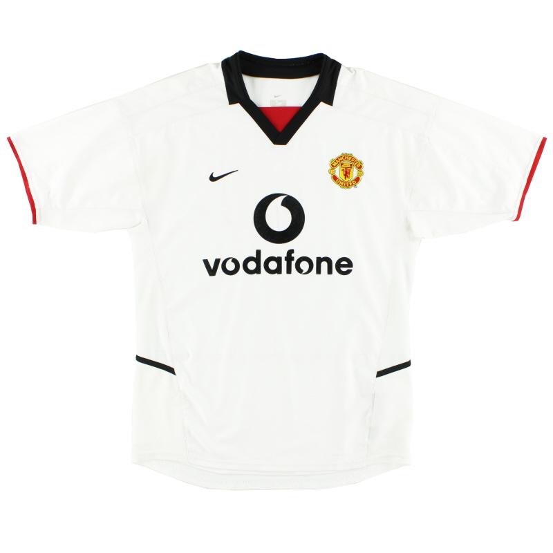 2002-03 Manchester United Nike Away Shirt L - 184951
