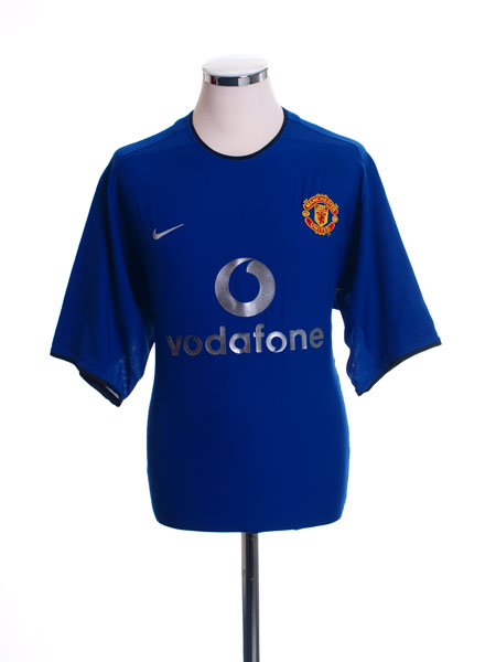 2002-03 Manchester United Third Shirt XXL