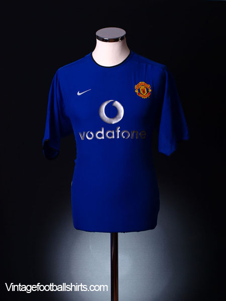 bc8b72d5531 2002-03 Manchester United Third Shirt V.Nistelrooy  10 XL for sale