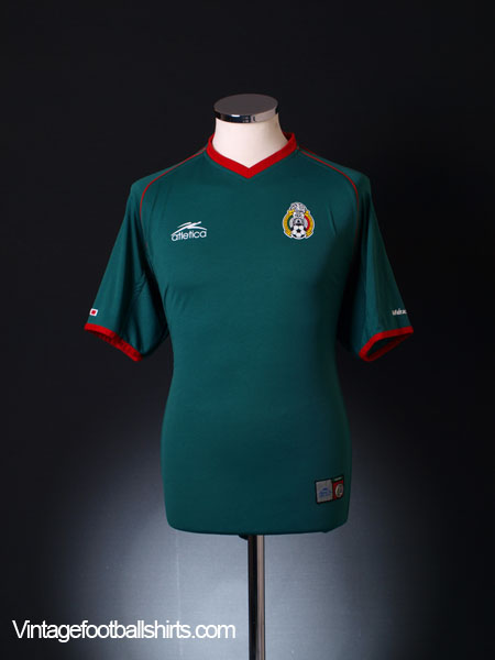 2002-03 Mexico Home Shirt M