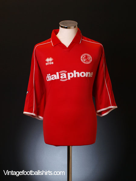 2002-03 Middlesbrough Home Shirt M