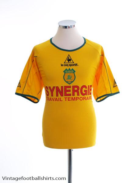 2002-03 Nantes Home Shirt L