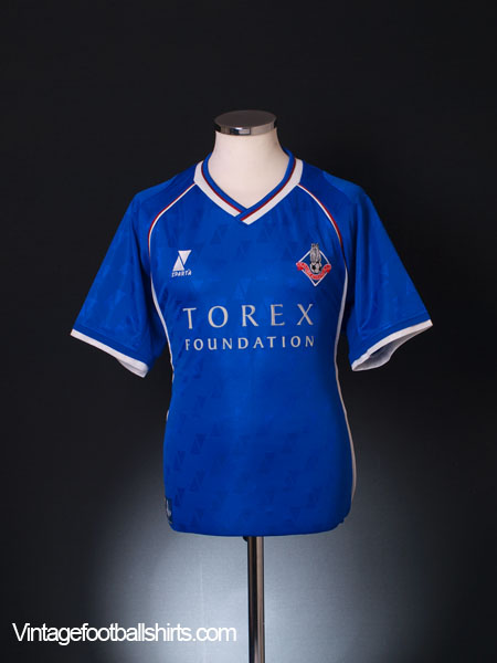 2002-03 Oldham Home Shirt M
